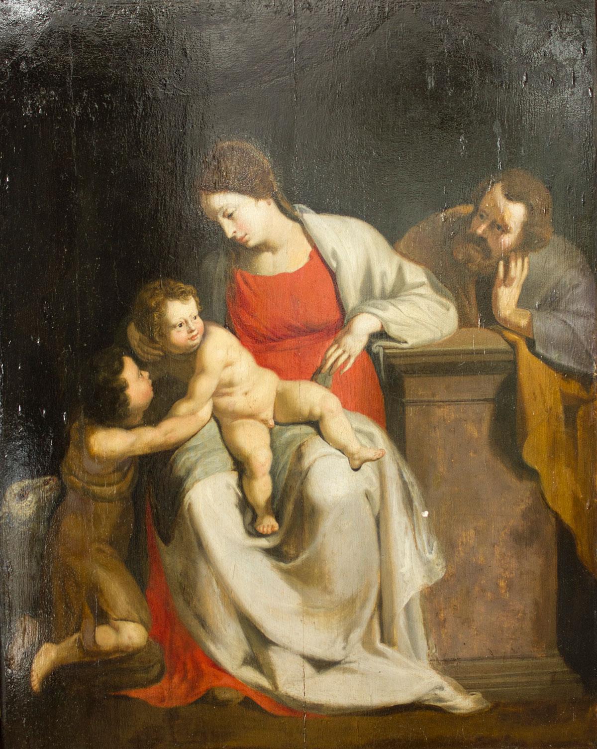 119- Sagrada familia e S. Juanito