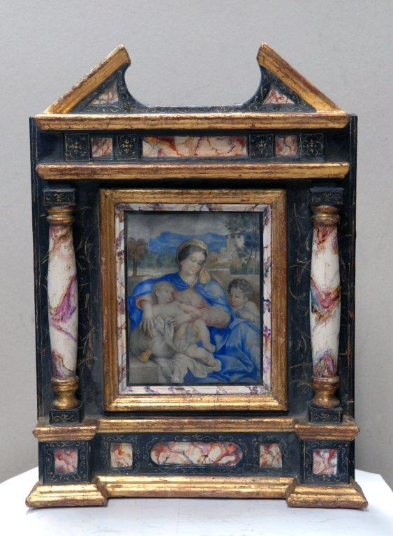 14-Nossa Senhora Com O Menino E San Juanito