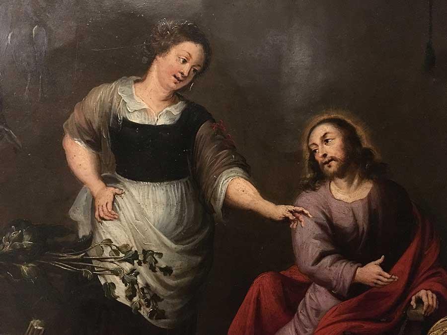 170- Jesus, Marta e Maria 1