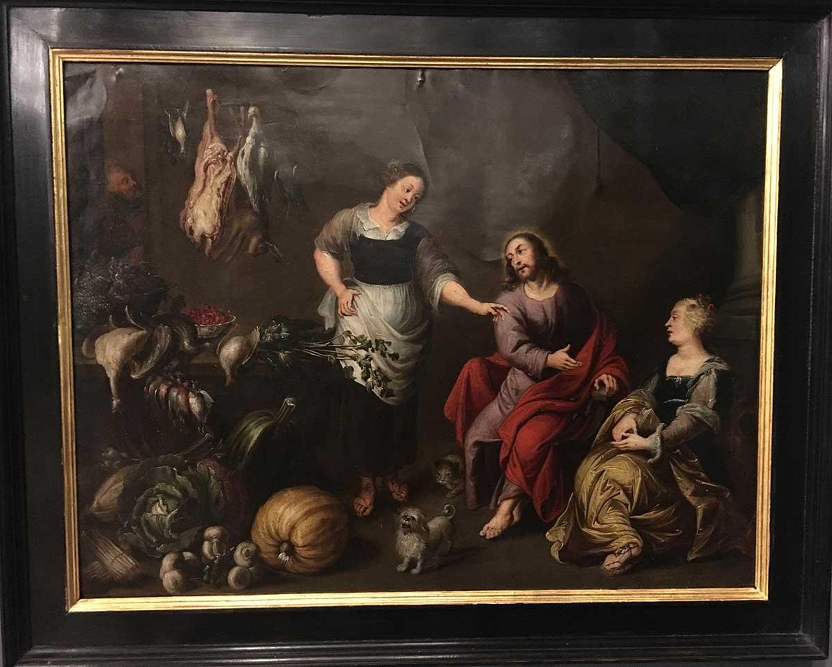 170- Jesus, Marta e Maria 4