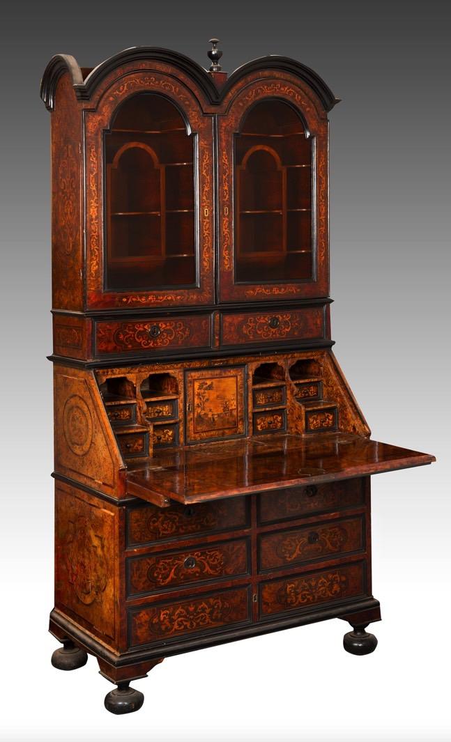 175-Escritório italiano em madeira
