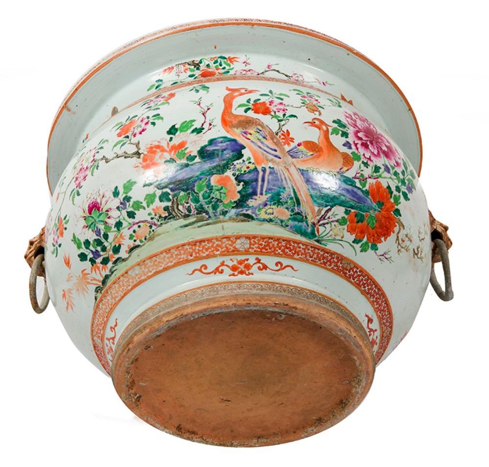 176- Aquário de porcelana chinês