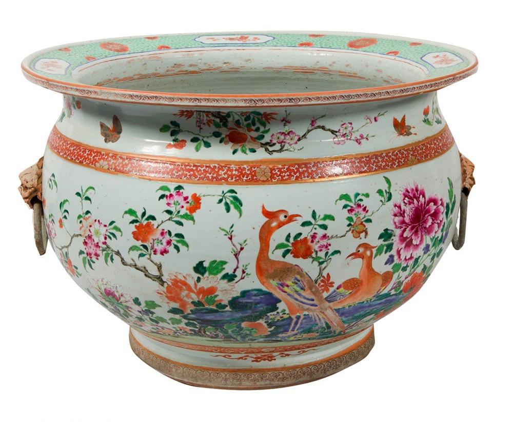 176-Aquário de porcelana chines