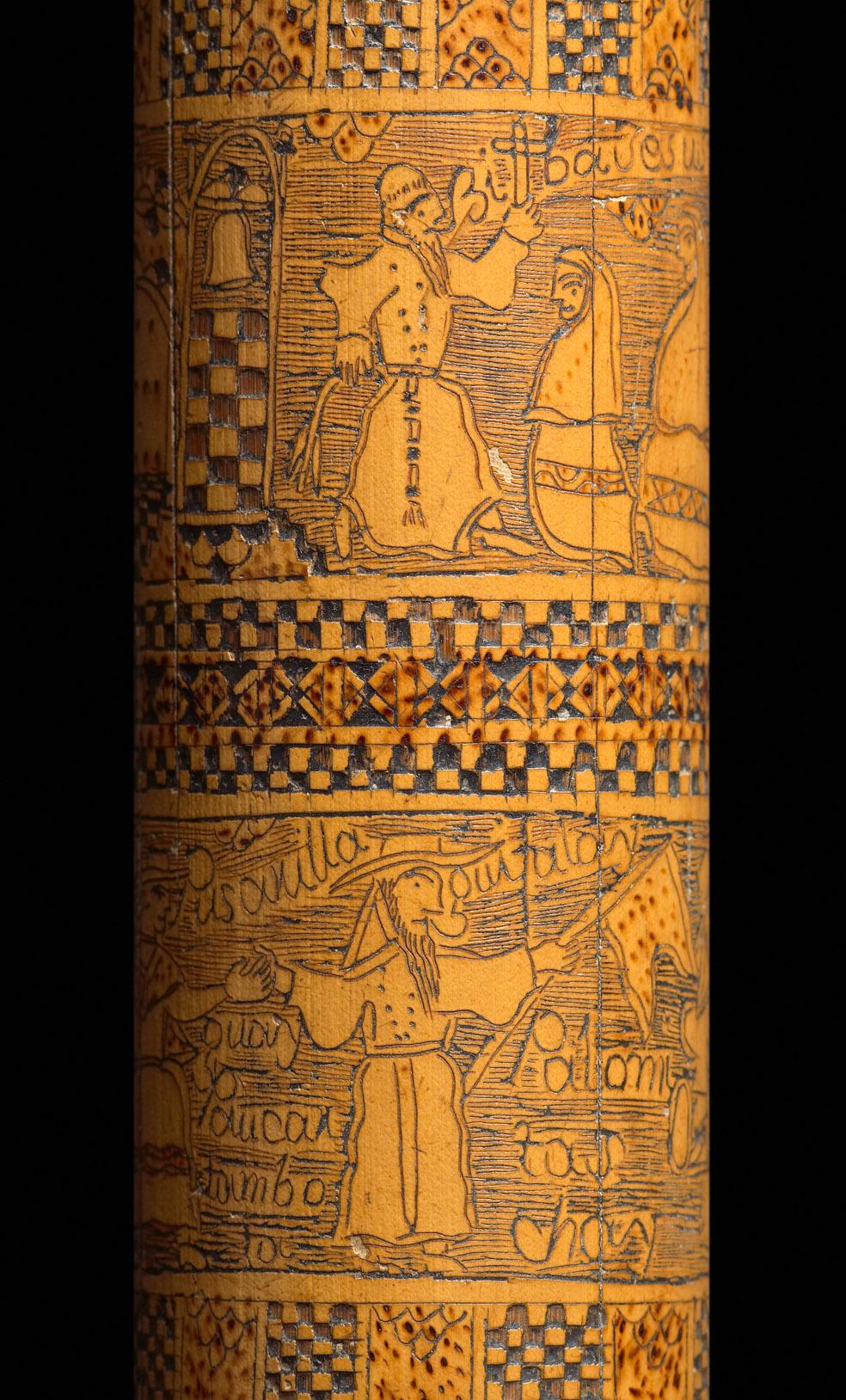 39- Caixa colonial de bambu 1