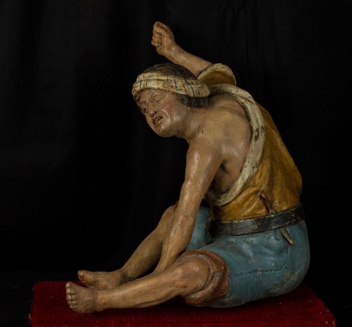 87- Par de esculturas napolitanas 1