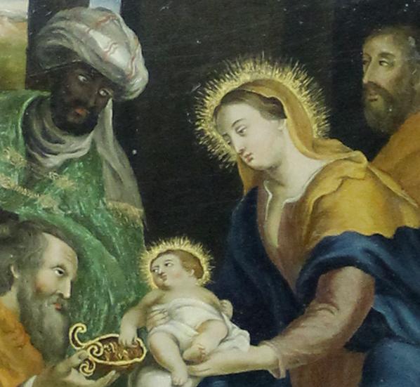Natividade E Adoração Dos Reis 5